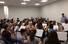 La Banda de Grau Professional del Conservatori de Tarragona ofereix un concert per Santa Tecla