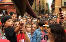 Más de 200 pequeños tarraconenses entregan los chupetes a la Víbria