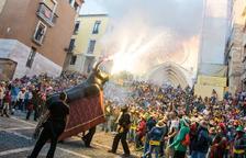 Los 'abanderats' de Santa Tecla son miembros del Bou de Tarragona