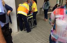 Dos hombres resultan heridos al Instituto de Torreforta con la llegada de la Policía Nacional
