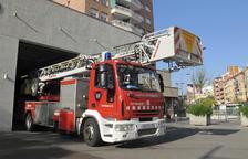 Imagen de archivo de una dotación de bomberos.