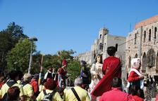 Els Amics dels Gegants de Montblanc, presents a la trobada gegantera de les Fonts de Terrassa