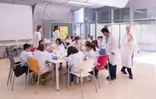BASF ensenya a més de 450 escolars a dur una bona alimentació