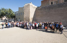 Unes 200 persones participen en la Caminada Popular de germanor entre Constantí i la Canonja