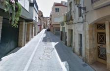 Imagen de la calle General Prim de El Vendrell.