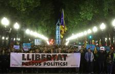 Cortes en las vías de tren y las carreteras y concentraciones en Tarragona y Reus