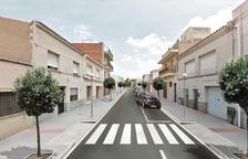 Imatge virtual de l'estat que tindrà el carrer Almirall Requesens un cop acabin els treballs.