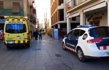 SEM, Mossos i Guàrdia Urbana van respondre ahir a l'avís.