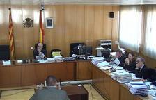 Captura de pantalla d'un dels agents de la policia científica dels Mossos d'Esquadra que han declarat en el judici sobre la desaparició de Carme Gallart a l'Audiència de Tarragona. Imatge del 15 de novembre del 2017