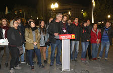 Imatge de l'acte de presentació a la plaça Imperial.