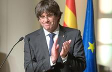 Imatge d'arxiu del president de la Generalitat, Carles Puigdemont, a Brussel·les.