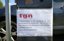 Les prop de 250 places de l'aparcament de la Tabacalera deixaran d'estar disponibles aquest dissabte 18 de novembre.