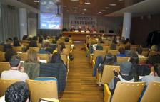 Els assistents van omplir la sala per estar presents en la 25a edició de les Jornades Científiques de Mediterrània.