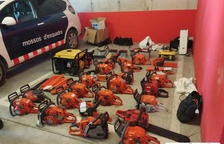 Detinguts dos homes per robar 21.000 euros en subministraments agrícoles de Flix