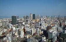 Imatge de la ciutat d'Osaka.