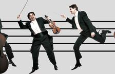 El concierto familiar 'Los tres mosqueteros o quien mató a Mozart?', en el Auditorio Pau Casals de El Vendrell