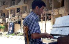 El pianista Aeham Ahmad, en una imagen de archivo.