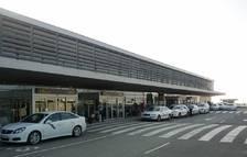 Imatge de l'entrada de l'aeroport de Reus.