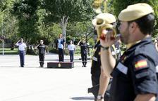 Cospedal recorda a Barcelona el dret de tots els espanyols a ser «defensats»
