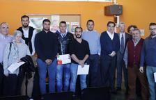 Imagen de los premiados y los participantes de los VIII Premios AEST.