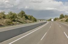 Imagen del punto kilométrico donde ha tenido lugar el accidente.