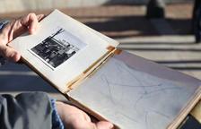 Autógrafo que Dalí dedicó a Carlos Fontana cuando tenía 9 años.