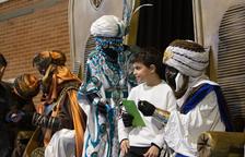 Els Patges Reials visiten la Pobla per recollir les cartes dels infants