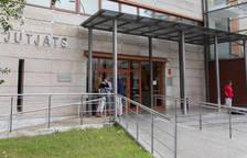 El edificio de los Juzgados de Reus habilitó hace semanas un espacio.