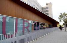 Pla general de l'exterior de l'àrea d'Urgències de l'Hospital Joan XXIII de Tarragona. Imatge del 8 de gener del 2018