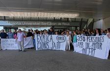 Una imagen de archivo de una protesta de los empleados, que decidirán hoy si vuelven a movilizarse.