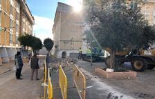 Comencen les obres de renovació de la plaça Juan Ramón Jiménez de Constantí