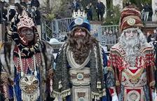 Una imagen de los reyes de la cabalgata de Reus, este año.