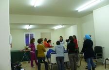 En el curso se utiliza material médico para facilitar el aprendizaje.