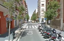 Imatge del carrer Gasòmetre, on es va produir la baralla.