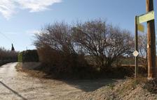 La intervenció preveia urbanitzar una superfície a tocar de la C-14, entre el cementiri i Granja Vila.