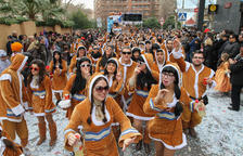 Una imatge d'arxiu del Carnaval de Reus, que se celebrarà aquest 2018 entre el 8 i el 14 de febrer.