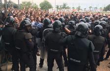 La Ràpita recorda l'1-O pendent del procés obert contra l'alcalde i el tinent alcalde