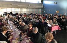 La gent gran del Morell celebra l'any nou amb el seu tradicional dinar