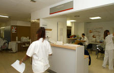 Imagen de archivo del servicio de urgencias del Hospital Josep Trueta de Girona.