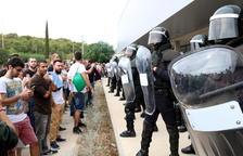 Guardias civiles piden que Cataluña sea 'zona de conflicto' a raíz del 1-O
