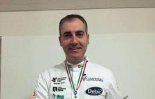 El xef de Calafell Jordi Guillem, subcampió mundial de gelateria