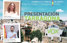 El partit de la ultradreta VOX es presenta a Tarragona aquest diumenge