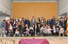 L'Ajuntament de Constantí dóna la benvinguda als infants nascuts el 2017