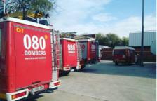 Un incendio en Sant Carles de la Ràpita obliga a evacuar a dos personas