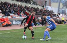 Miramón reapareció contra el Lorca, una vez superada la lesión, y lo hizo como titular.