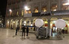 El Fortuny i la Plaça Prim acullen el rodatge de la ficció 'Cançó per a tu'
