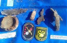 Una explosió en una finca destapa restes d'artilleria de la República Txecoslovaca