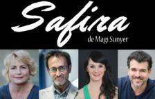 Violant Llopis y Xavier Grasset llevan|traen 'Safira' a Valls