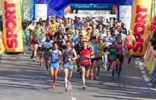 Albert Moreno i Mireia Sosa s'enduen la Mitja Marató de Cambrils