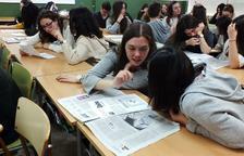 El programa 'Prensa en las escuelas' llega a 15 institutos de la demarcación